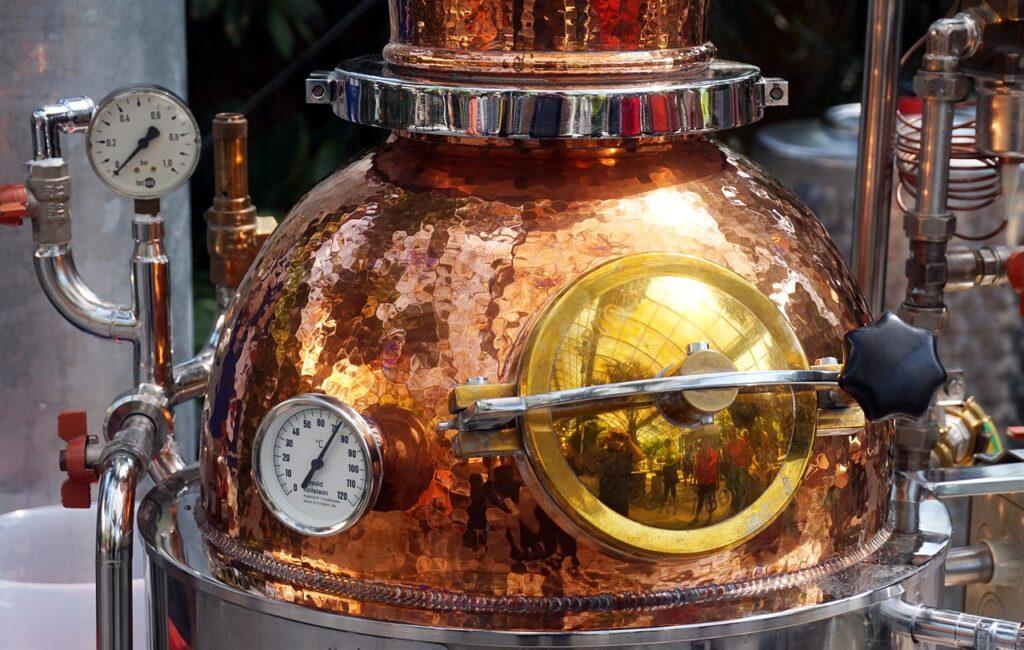 o que é um destilador